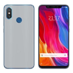 Funda Gel Tpu para Xiaomi Mi 8 Color Transparente