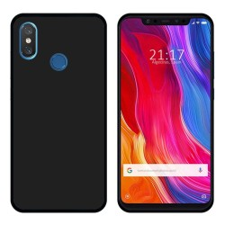 Funda Gel Tpu para Xiaomi Mi 8 Color Negra