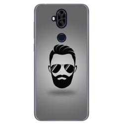 Funda Gel Tpu para Asus Zenfone 5 Lite Zc600Kl Diseño Barba Dibujos