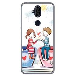 Funda Gel Tpu para Asus Zenfone 5 Lite Zc600Kl Diseño Cafe Dibujos