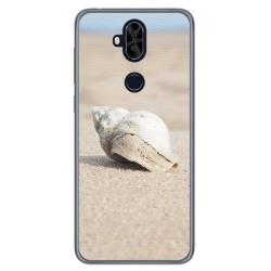 Funda Gel Tpu para Asus Zenfone 5 Lite Zc600Kl Diseño Concha Dibujos