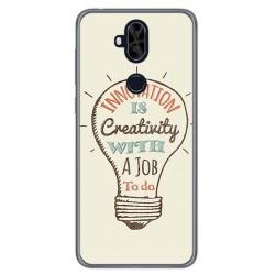 Funda Gel Tpu para Asus Zenfone 5 Lite Zc600Kl Diseño Creativity Dibujos