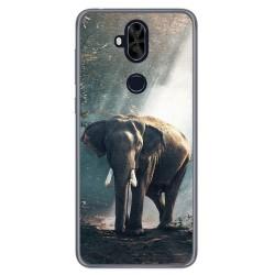 Funda Gel Tpu para Asus Zenfone 5 Lite Zc600Kl Diseño Elefante Dibujos