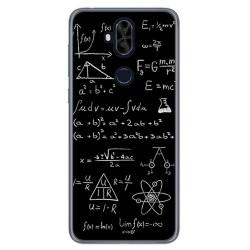 Funda Gel Tpu para Asus Zenfone 5 Lite Zc600Kl Diseño Formulas Dibujos