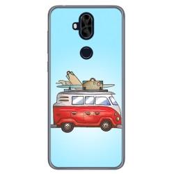 Funda Gel Tpu para Asus Zenfone 5 Lite Zc600Kl Diseño Furgoneta Dibujos
