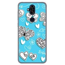 Funda Gel Tpu para Asus Zenfone 5 Lite Zc600Kl Diseño Mariposas Dibujos