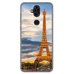 Funda Gel Tpu para Asus Zenfone 5 Lite Zc600Kl Diseño Paris Dibujos