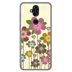 Funda Gel Tpu para Asus Zenfone 5 Lite Zc600Kl Diseño Primavera En Flor Dibujos