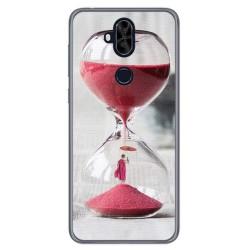 Funda Gel Tpu para Asus Zenfone 5 Lite Zc600Kl Diseño Reloj Dibujos