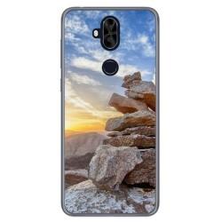 Funda Gel Tpu para Asus Zenfone 5 Lite Zc600Kl Diseño Sunset Dibujos