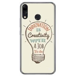 Funda Gel Tpu para Asus Zenfone 5 Ze620Kl Diseño Creativity Dibujos