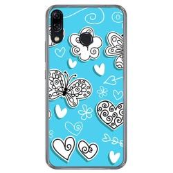 Funda Gel Tpu para Asus Zenfone 5 Ze620Kl Diseño Mariposas Dibujos