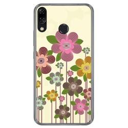 Funda Gel Tpu para Asus Zenfone 5 Ze620Kl Diseño Primavera En Flor Dibujos