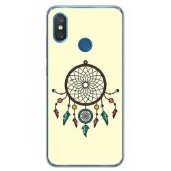 Funda Gel Tpu para Xiaomi Mi 8 Diseño Atrapasueños Dibujos