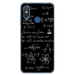 Funda Gel Tpu para Xiaomi Mi 8 Diseño Formulas Dibujos