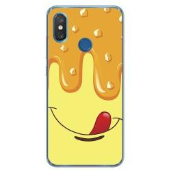 Funda Gel Tpu para Xiaomi Mi 8 Diseño Helado Vainilla Dibujos