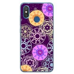 Funda Gel Tpu para Xiaomi Mi 8 Diseño Radial Dibujos