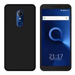 Funda Gel Tpu para Alcatel 3 Color Negra