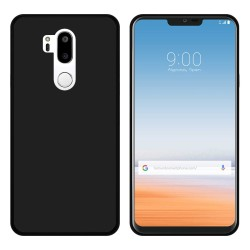 Funda Gel Tpu para Lg G7 Thinq Color Negra