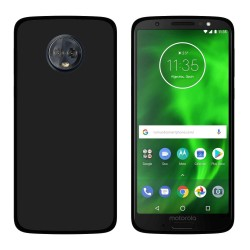 Funda Gel Tpu para Motorola Moto G6 Plus Color Negra