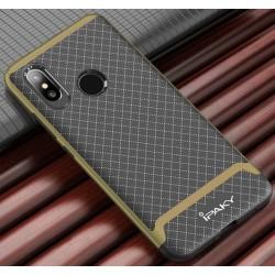 Funda Ipaky Tipo Neo Hybrid (Pc+Tpu) Negra / Dorada para Xiaomi Mi8