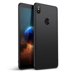 Funda Gel Tpu Tipo Mate Negra para Xiaomi Mi 8