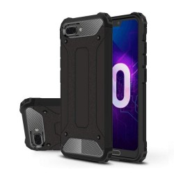 Funda Tipo Hybrid Tough Armor (Pc+Tpu) Negra para Huawei Honor 10