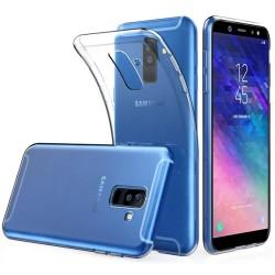 Funda Gel Tpu Fina Ultra-Thin 0,5mm Transparente para Samsung Galaxy A6 Plus (2018)