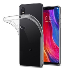 Funda Gel Tpu Fina Ultra-Thin 0,5mm Transparente para Xiaomi Mi 8