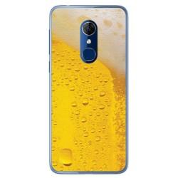Funda Gel Tpu para Alcatel 3 Diseño Cerveza Dibujos