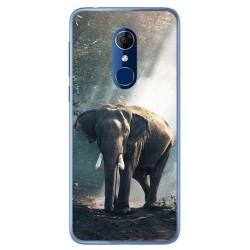 Funda Gel Tpu para Alcatel 3 Diseño Elefante Dibujos