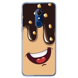 Funda Gel Tpu para Alcatel 3 Diseño Helado Chocolate Dibujos