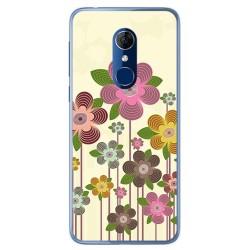 Funda Gel Tpu para Alcatel 3 Diseño Primavera En Flor Dibujos