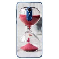 Funda Gel Tpu para Alcatel 3 Diseño Reloj Dibujos