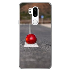Funda Gel Tpu para Lg G7 Thinq Diseño Apple Dibujos