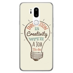 Funda Gel Tpu para Lg G7 Thinq Diseño Creativity Dibujos