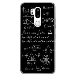 Funda Gel Tpu para Lg G7 Thinq Diseño Formulas Dibujos