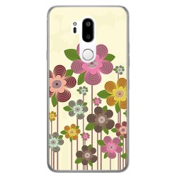 Funda Gel Tpu para Lg G7 Thinq Diseño Primavera En Flor Dibujos
