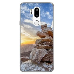 Funda Gel Tpu para Lg G7 Thinq Diseño Sunset Dibujos
