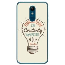 Funda Gel Tpu para Lg K11 Diseño Creativity Dibujos