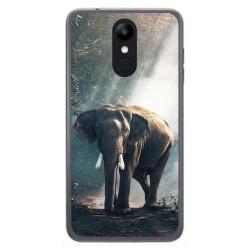Funda Gel Tpu para Lg K9 Diseño Elefante Dibujos