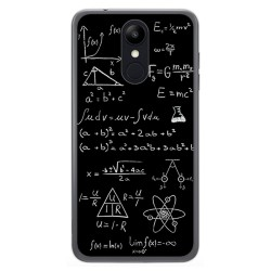 Funda Gel Tpu para Lg K9 Diseño Formulas Dibujos