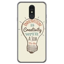 Funda Gel Tpu para Lg Q7 Diseño Creativity Dibujos