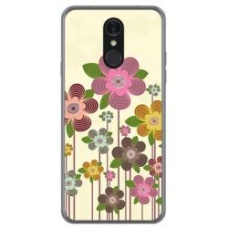 Funda Gel Tpu para Lg Q7 Diseño Primavera En Flor Dibujos