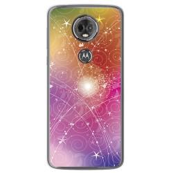 Funda Gel Tpu para Motorola Moto E5 Plus Diseño Abstracto Dibujos