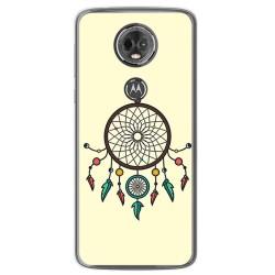Funda Gel Tpu para Motorola Moto E5 Plus Diseño Atrapasueños Dibujos