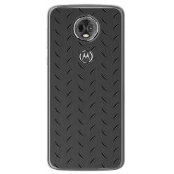 Funda Gel Tpu para Motorola Moto E5 Plus Diseño Metal Dibujos