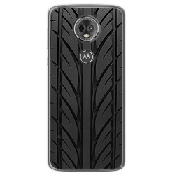 Funda Gel Tpu para Motorola Moto E5 Plus Diseño Neumatico Dibujos