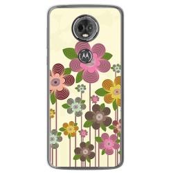 Funda Gel Tpu para Motorola Moto E5 Plus Diseño Primavera En Flor Dibujos