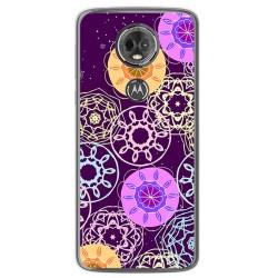Funda Gel Tpu para Motorola Moto E5 Plus Diseño Radial Dibujos